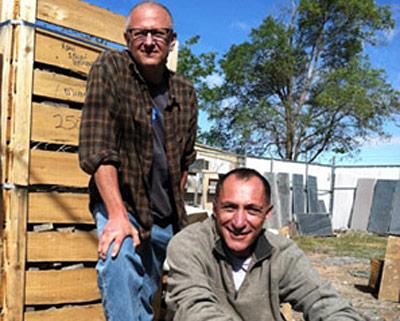 Matt Kreitman and Robbie Lipworth