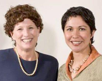 Tina Cleveland and Marie Lapina